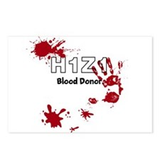 H1Z1 Blood Donor. Postcards (Package of 8)