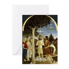 Baptism of Jesus Greeting Cards (Pk of 10)