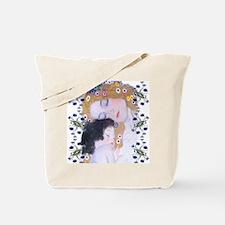 Klimt Art Deco Mother Child Tote Bag