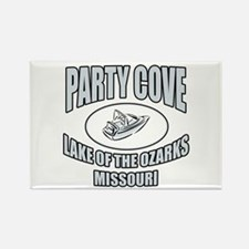 Party Cove LoTo Rectangle Magnet