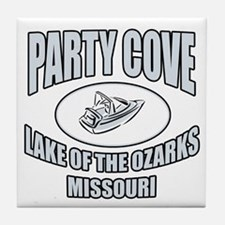 Party Cove LoTo Tile Coaster