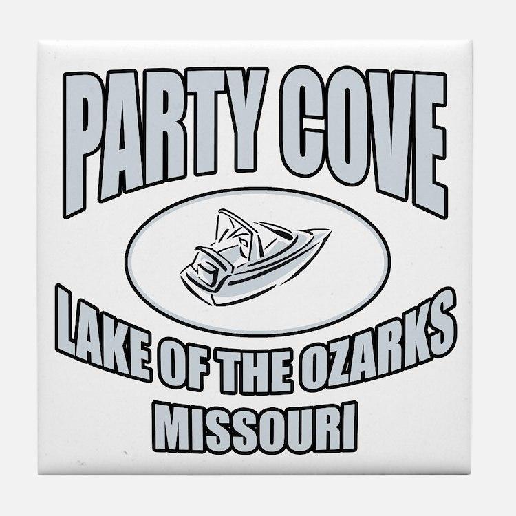 Party Cove LoTo Tile Coaster