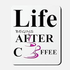 Coffee Life Mousepad
