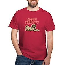 mastiff holiday T-Shirt