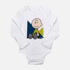 The Peanuts Gang: Char Long Sleeve Infant Bodysuit