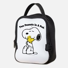 Snoopy and Woodstock Hug Neoprene Lunch Bag