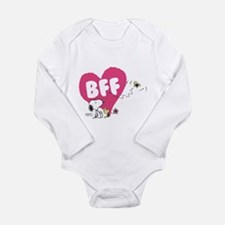 Snoopy and Woodstock Long Sleeve Infant Bodysuit