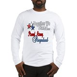 Army stepdad Long Sleeve T-shirts