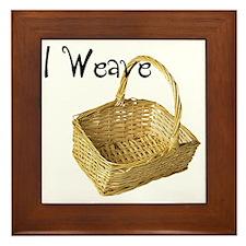 i weave Framed Tile