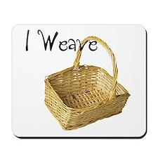 i weave Mousepad