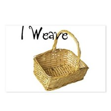 i weave Postcards (Package of 8)