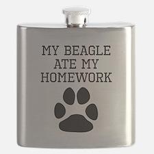 My Beagle Ate My Homework Flask