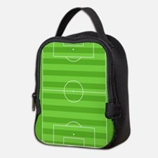Soccer Field Neoprene Lunch Bag