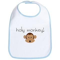 Holy monkey! Bib