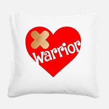Unique Broken heart Square Canvas Pillow
