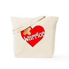 Cute Heart awareness Tote Bag