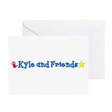 Kyle & Friends Greeting Cards (Pk of 10)