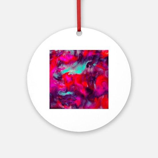 118451660 Lava Round Ornament