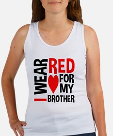 Red Brother Tank Top