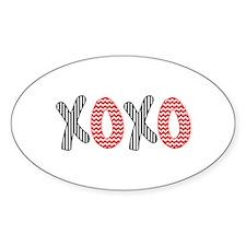 XOXO Decal