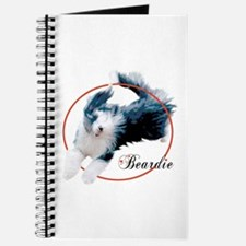 Bearded Collie Cameo Journal