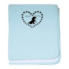 Cool Rescue dogs baby blanket