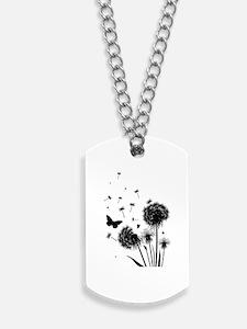 Dandelion Dog Tags