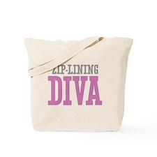 Zip-Lining DIVA Tote Bag