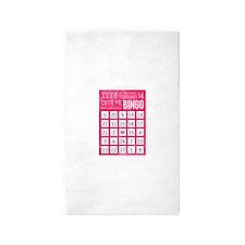 valentine bingo Area Rug