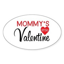 Mommy's Little Valentine Decal