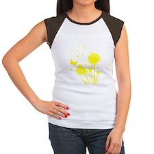 Dandelion Women's Cap Sleeve T-Shirt