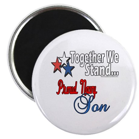 "Navy Son 2.25"" Magnet (100 pack)"