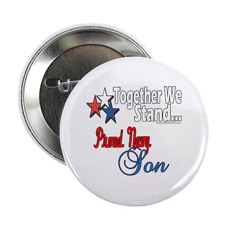 Navy Son Button
