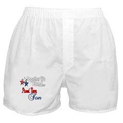 Navy Son Boxer Shorts