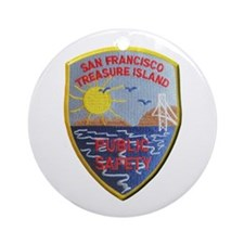 Treasure Island Public Safety Ornament (Round)