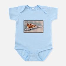 Sleeping Papillon Infant Bodysuit