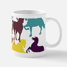 Rainbow Horses Mugs