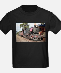 Goldfields steam engine locomotive J515, V T-Shirt