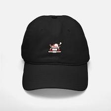 Just Married Bear Wedding Baseball Hat