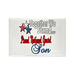 National Guard Son Rectangle Magnet (100 pack)