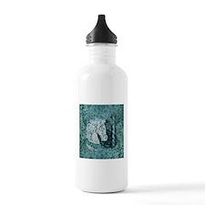 Carnival Horse Aquamarine Sports Water Bottle