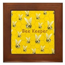 Bee Keeper ~ Framed Tile