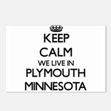 Keep calm we live in Plym Postcards (Package of 8)