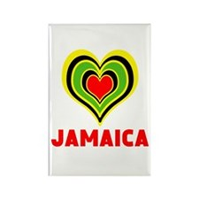 JAMAICA HEART Magnets