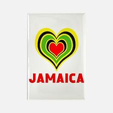 JAMAICA HEART Magnets