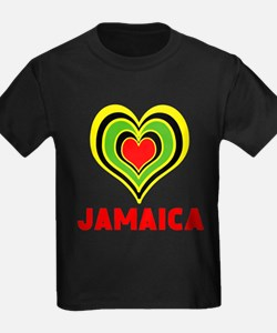 JAMAICA HEART T-Shirt