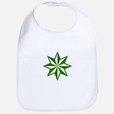 Green Guiding Star Bib
