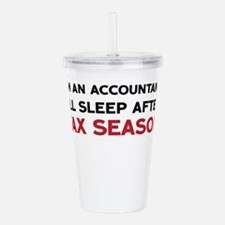 I'm An Accountant Acrylic Double-wall Tumbler