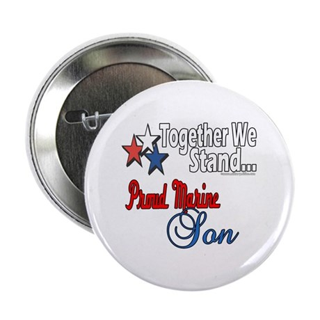 """Proud Marine Son 2.25"""" Button (100 pack)"""