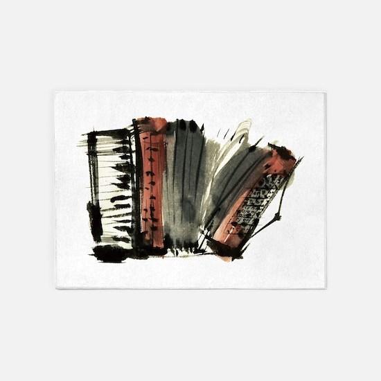 accordion 5'x7'Area Rug